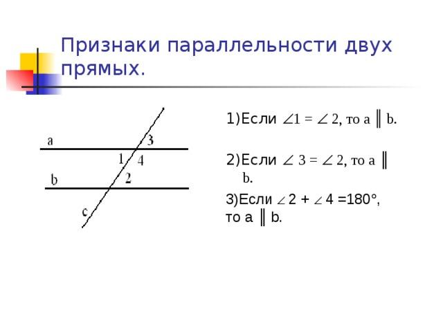 Решение задач по признакам параллельности прямых решение двойственной задачи i теоремы равновесия