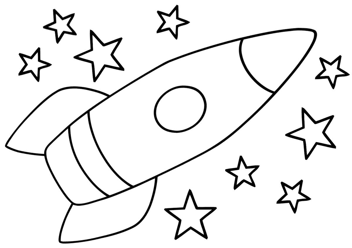 «Ракета летит в космос»