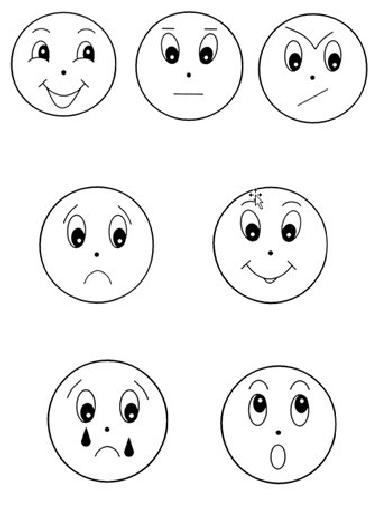 Картинки чувства и эмоции распечатать, надписью
