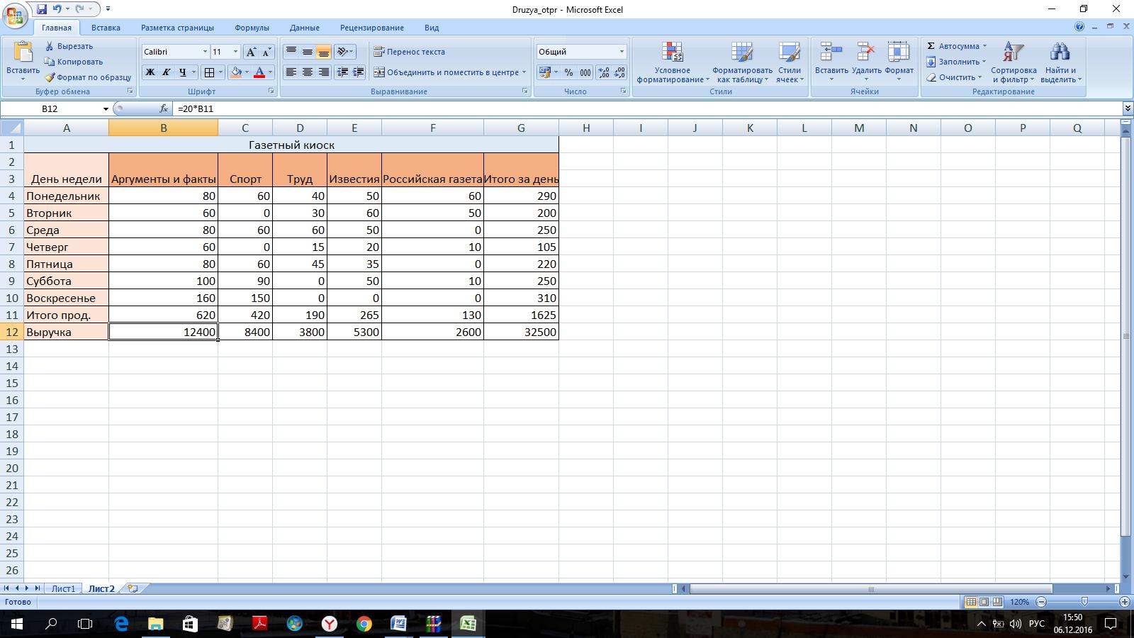 составление таблиц в excel фриланс
